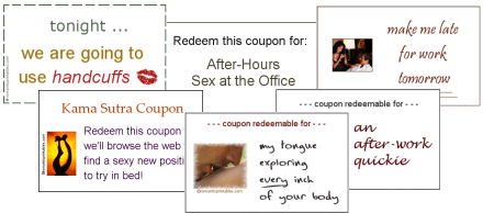 Printable Sex Coupons